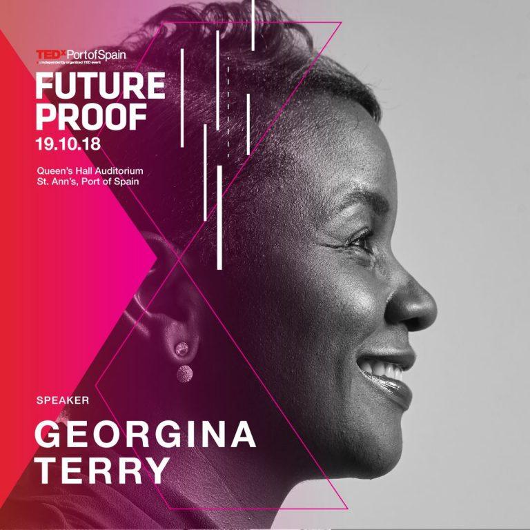 Georgina Terry Future Proof TEDx POS